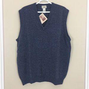 Vintage LLBean Lambswool sweater vest
